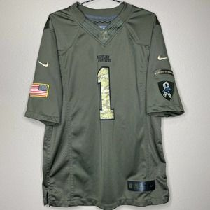 Nike Salute To Service Panthers Jersey